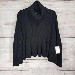 NEW Free People XS Layer Cake sweater Turtleneck